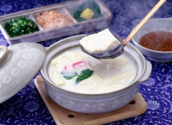 Onsen Yudofu (Tofu boiled with hot spring water)