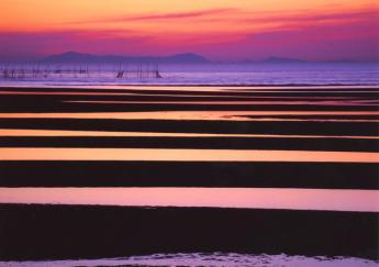Sunset on Matama Coast