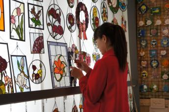 Yufuin Stained Glass Museum