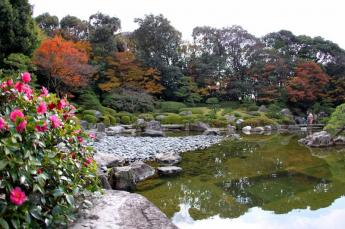 Japanese Garden at Ohori Park