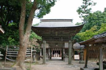 Sakurai Shrine: Main Shrine