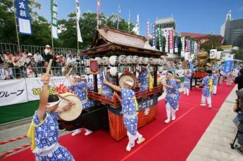 Kokura Gion Daiko Drums