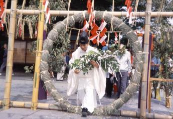 Kora Taisha Shrine's Kawatarisai Festival (Hekokaki Matsuri Festival)…
