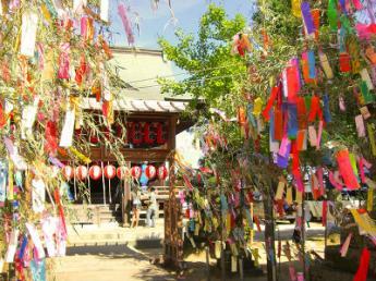 Summer Festival at Tanabata Shrine