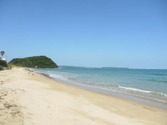 Singing Sand at Anego no Hama Beach