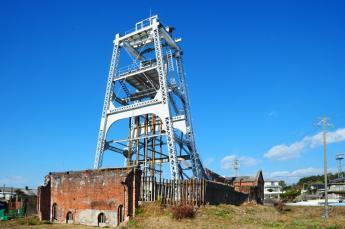 Miyanohara Pit at the Miike Coal Mine
