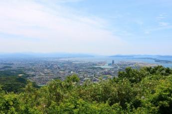 Mt. Tachibanayama which overlooks the Genkai Sea and Fukuoka City…